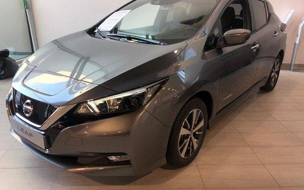 nissan leaf acenta 2021, halvkombi - bilweb.se