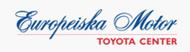 Logotyp för Europeiska Motor / Toyota Center Rissne