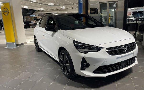 Opel Corsa e DESIGN LINE 50KWH 2021, Halvkombi - Bilweb.se