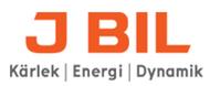 Logotyp för J BIL AB, Haninge