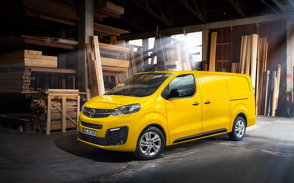 opel vivaro e l3 premium elbil 2021, transportbil - bilweb.se