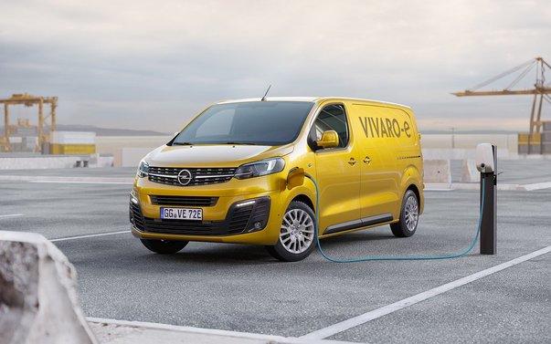 opel vivaro e l3 premium elbil 330 km 2021, transportbil