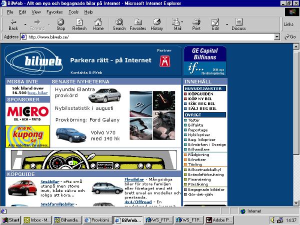 Bilweb 2000