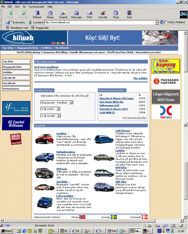 Bilweb 2001