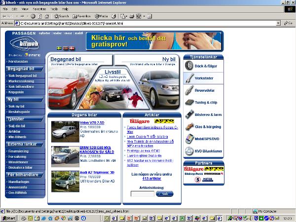 Bilweb 2004
