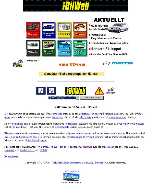 Bilweb 1996