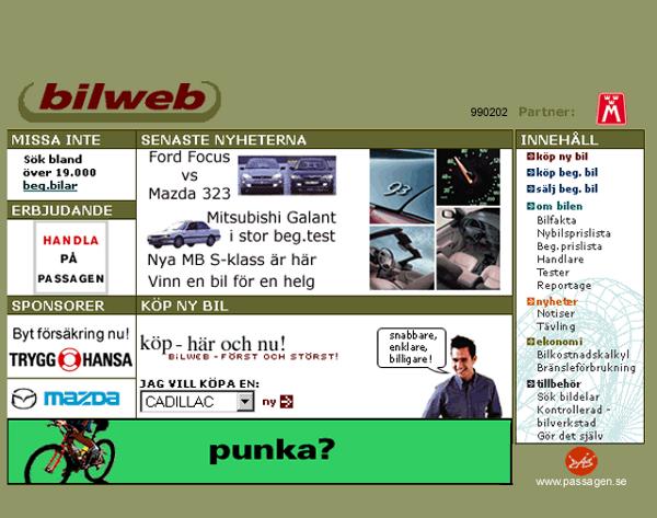Bilweb 1999